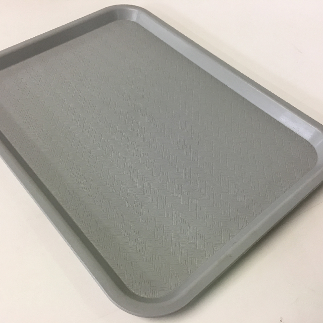 TRA0027 TRAY, Grey Cafe Canteen Style $3.75