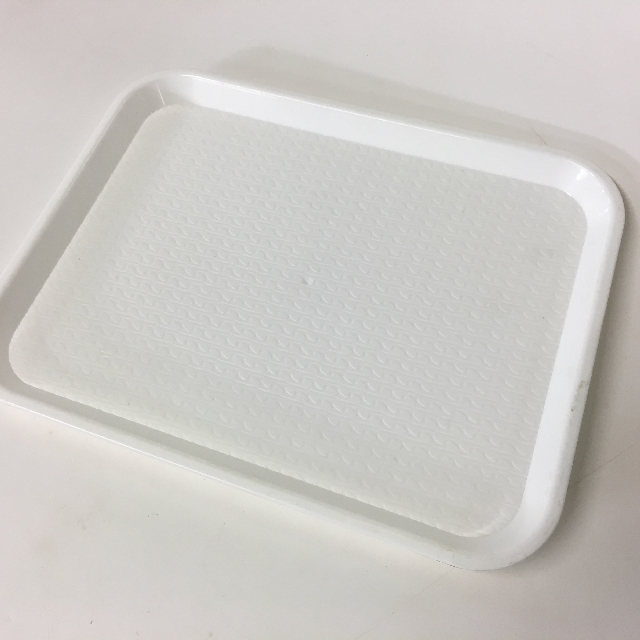 TRA0033 TRAY, White Cafe Canteen Style $3.75