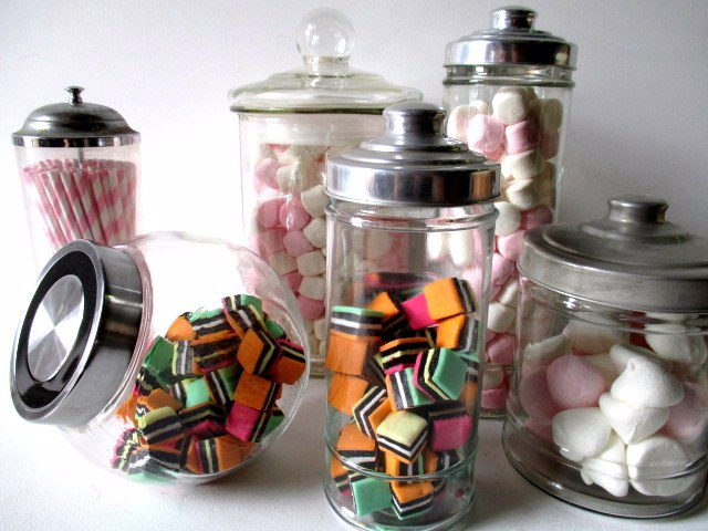 Event Styling - 1950's Props - Assorted Lolly Jars