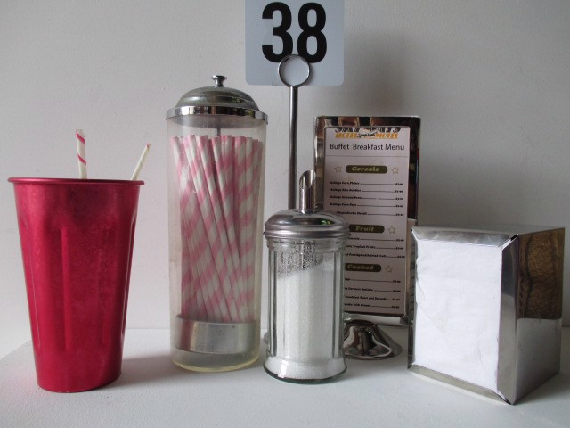 Event Styling - 1950's Diner Props