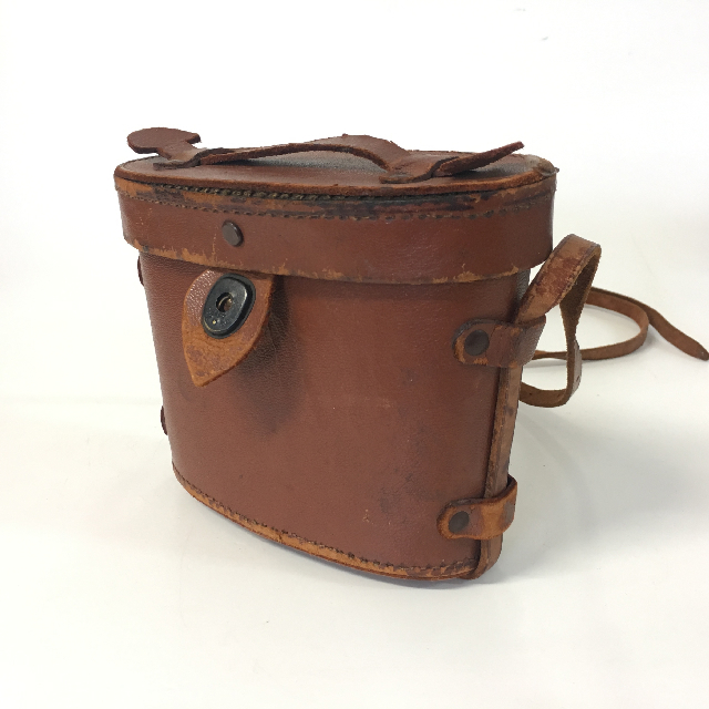 BIN0005 BINOCULAR CASE, Brown Leather - Small $15