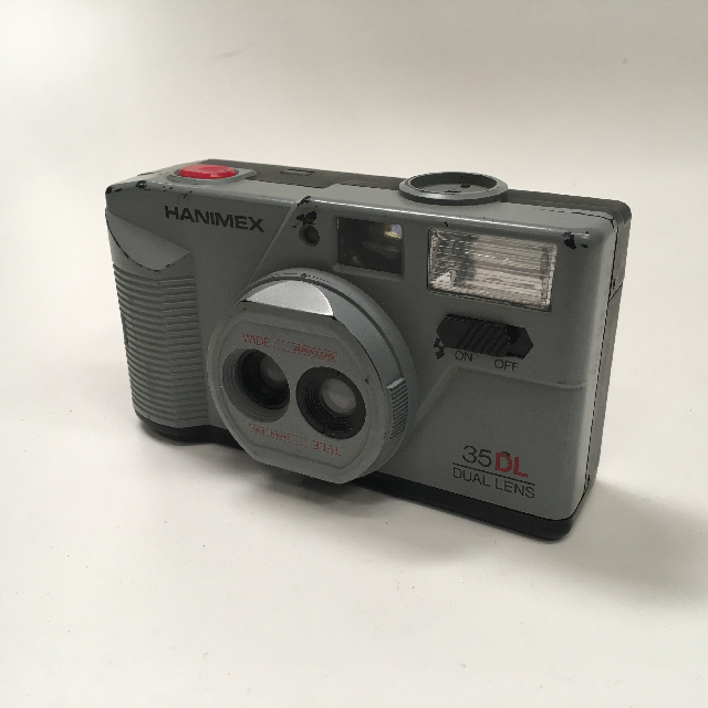 CAM0016 CAMERA, Pocket Camera - Grey Hanimex $6.25