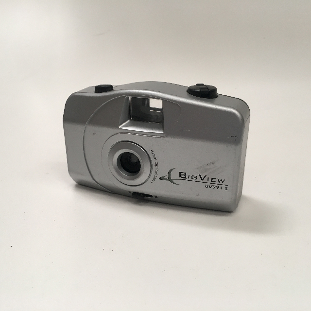 CAM0018 CAMERA, Pocket Camera - Silver Big View $6.25