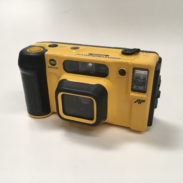 CAM0020 CAMERA, Pocket Camera - Yellow Minolta $6.25