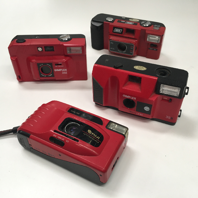 CAM0017 CAMERA, Pocket Camera - Red $6.25