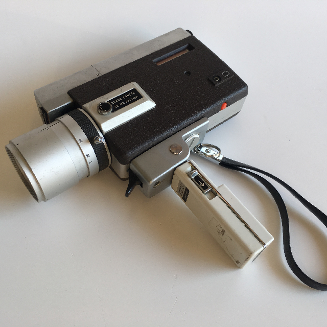 CAM0030 CAMERA, Super 8 - Canon Silver $18.75
