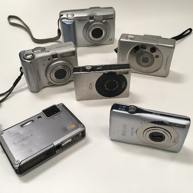 CAM0034 CAMERA, Digital Silver Assorted $20