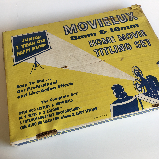 MOV0001 MOVIE TITLE SET, MovieLux $18.75