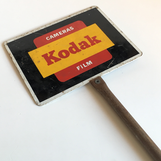 SIG0152 SIGN, Metal POS Sign Kodak $15