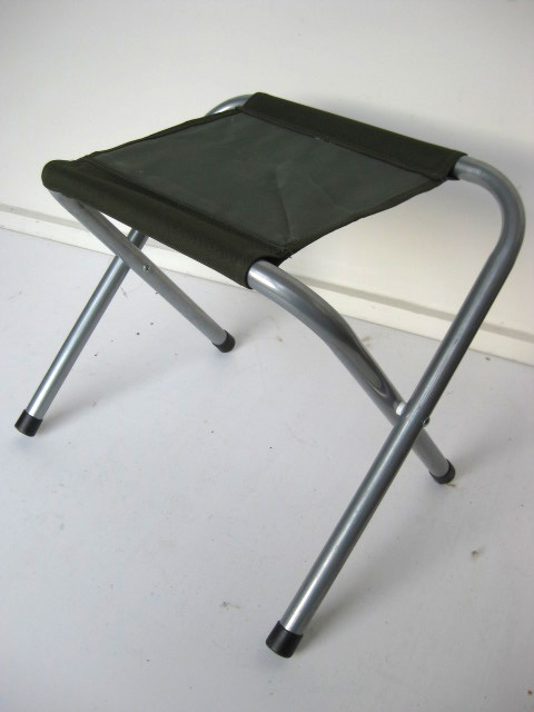 STO0204 STOOL, Camp - Folding Dark Green, Aluminium $10