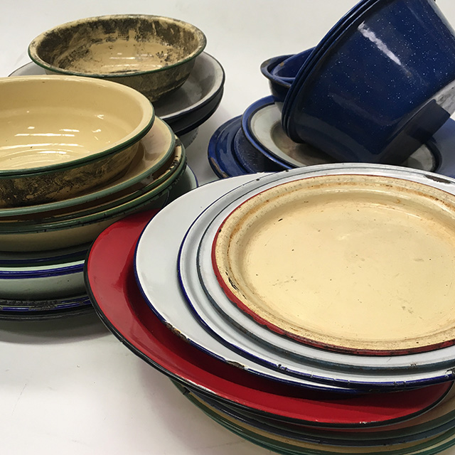 Assorted Enamelware