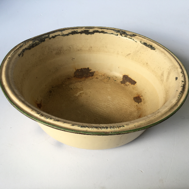 ENA0002 ENAMELWARE, Bowl - Wash Bowl Cream $13.75