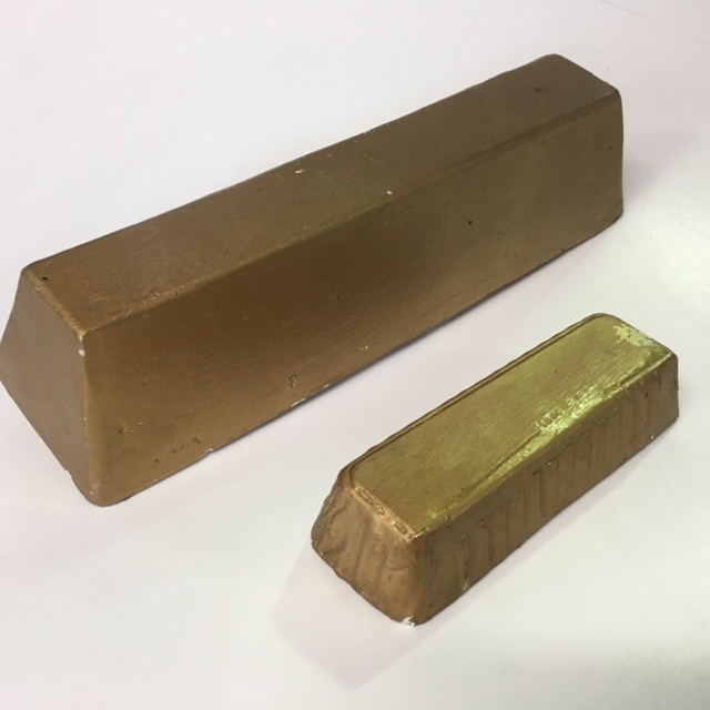 GOLD BAR, Large (GOL0100) $12.50 & Small (GOL0102) $7.50