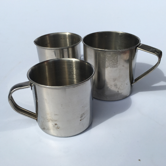 MUG0005 MUG, Stainless Steel $1.25
