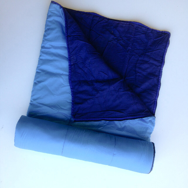 SLE0010 SLEEPING BAG, Two Blues $6.25