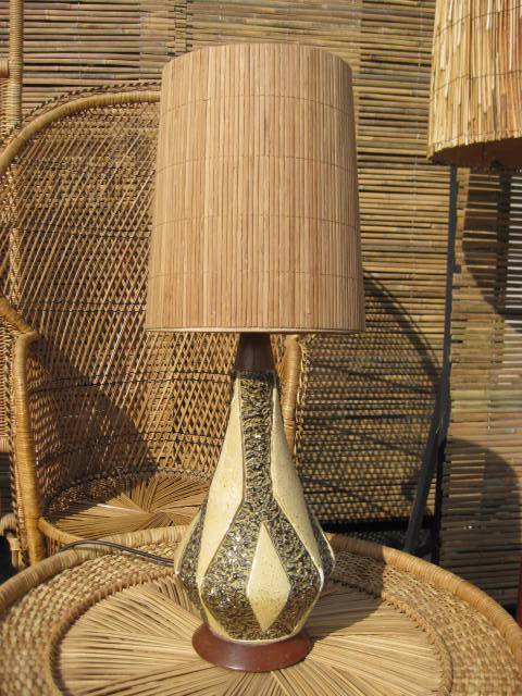 LAM0103 Lampshade $7.50 & LAM0300 Base (Table) $22.50