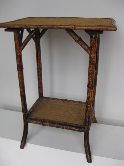 TAB0050 TABLE, Occasional Table - Cane Victorian $30