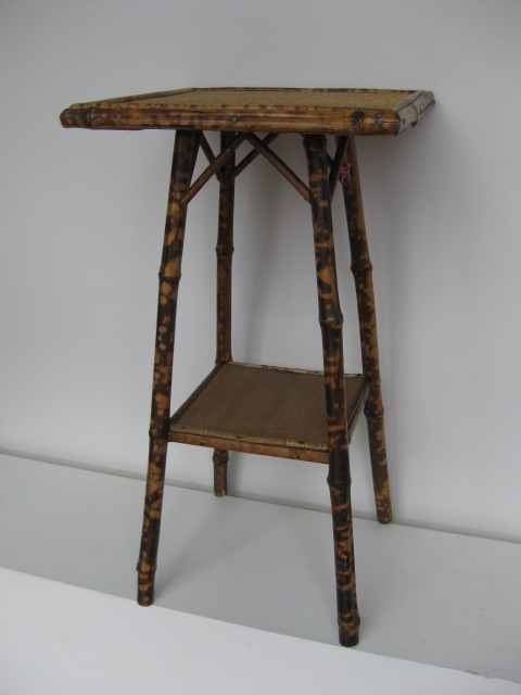 TAB0051 TABLE, Occasional Table - Cane Victorian $30