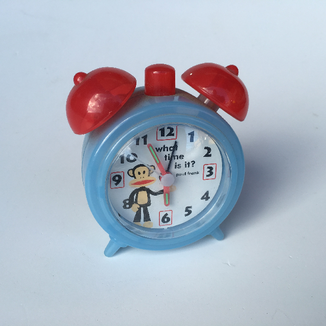 CLO0006 CLOCK, Alarm Novelty Small Paul Frank $4.50