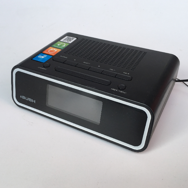 CLO0032 CLOCK, Digital Clock Radio - Black BUSH $8.75
