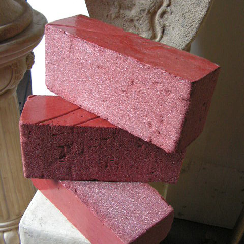 BRI0100 BRICK, Red Fake Styrene $6.25