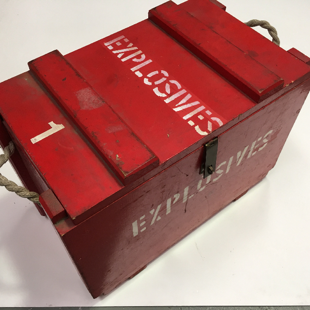 EXP0008 EXPLOSIVES, Box Large $45