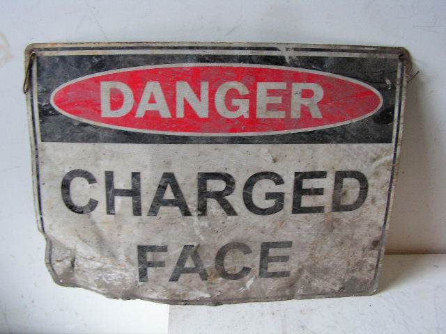 SIG0313 SIGN, Construction - Charged Face $12.50