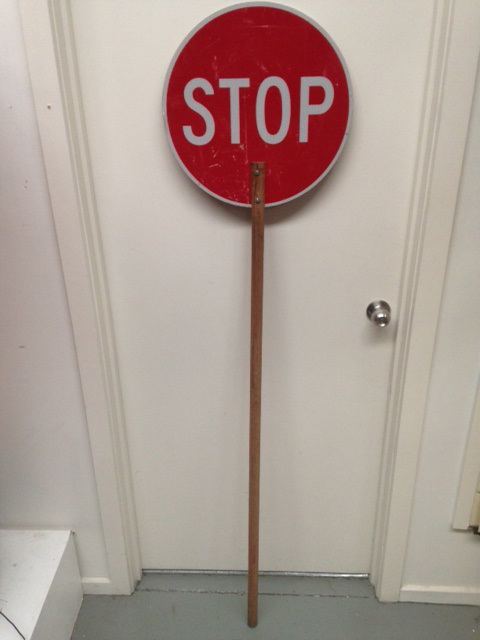 SIG0406 SIGN, Road Sign - Stop Lollipop Red Reflector $27.50