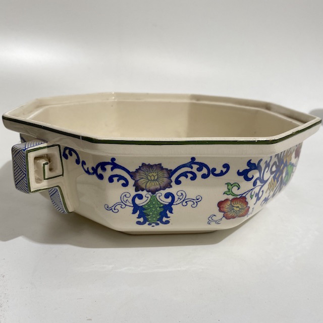 BOW0202 BOWL, Vintage Serving Dish - Hexagonal $10