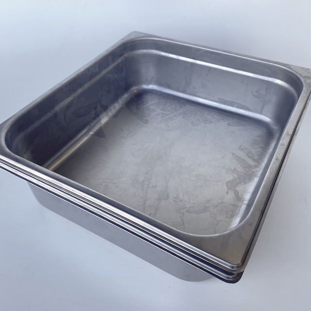 BAK0001 BAKING DISH, Rectangular Large Commercial Style - Stainless Steel $6.25