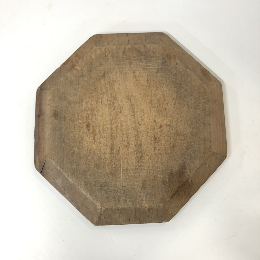 CHO0008 CHOPPING BOARD, Wooden Hexagonal - Small $6.25