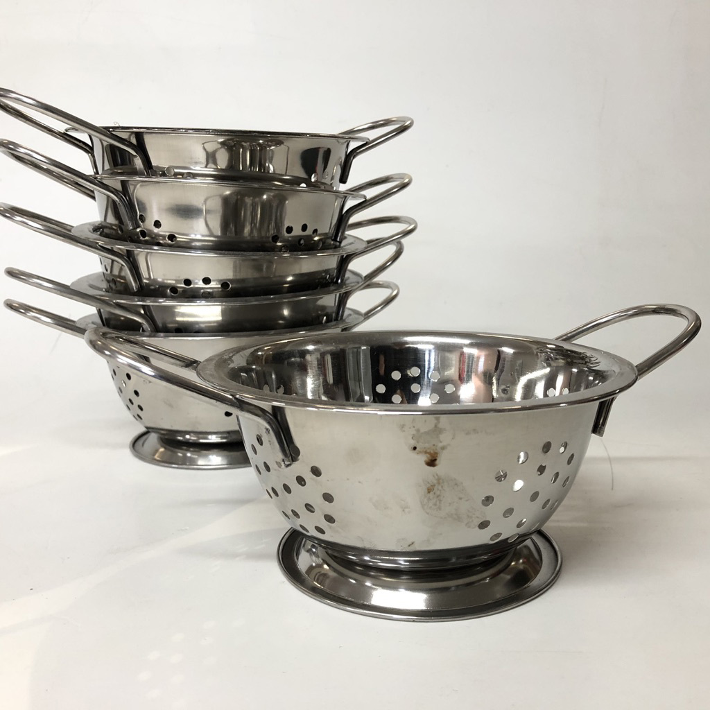 COL0034 COLANDER, Ex Small Stainless Steel $3.75