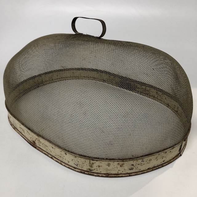 FOO0104 FOOD COVER, Vintage Mesh - Large $10