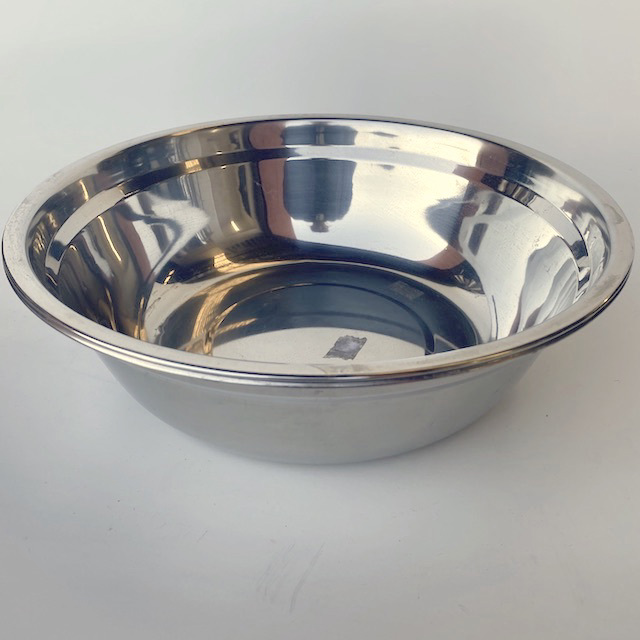 MIX0030 MIXING BOWL, Stainless Steel - Medium $3