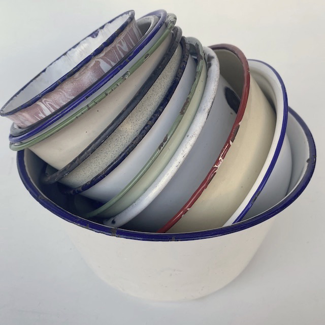 Mixing Bowls Enamel Collection