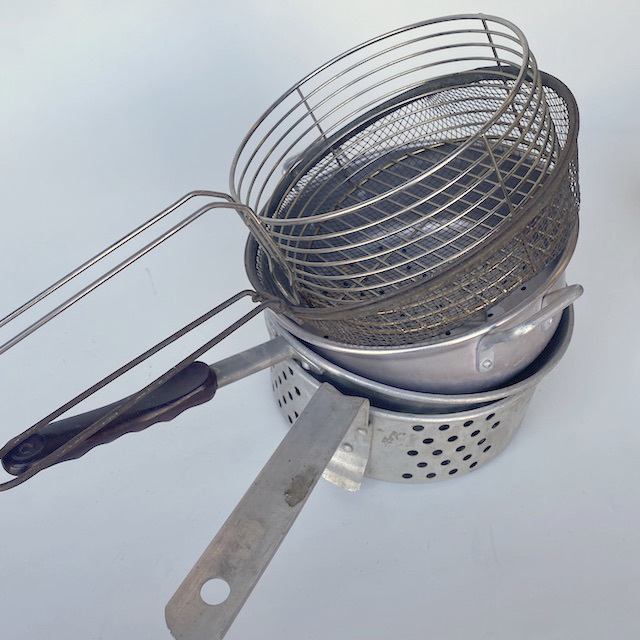 POT0202 POTS n PANS, Aluminium Sieve or Steamer (Small-Med) $6.25