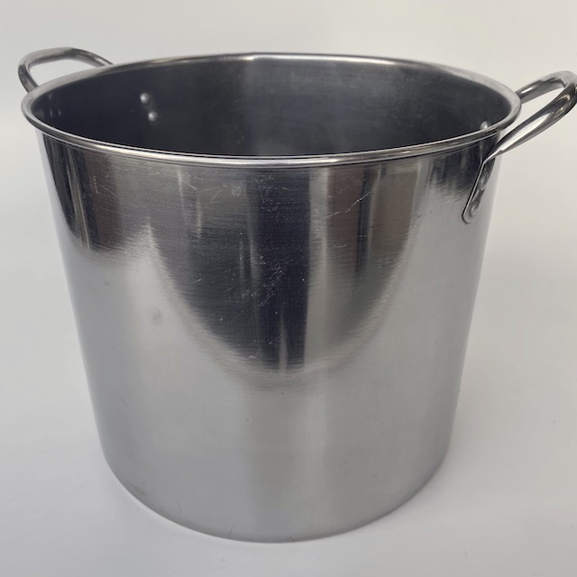 POT0205 POTS n PANS, Aluminium Stock Pot Commercial Style 40L Shiny $18.75