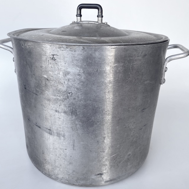 POT0206 POTS n PANS, Aluminium Stock Pot Commercial Style w Lid - Ex Large $18.75