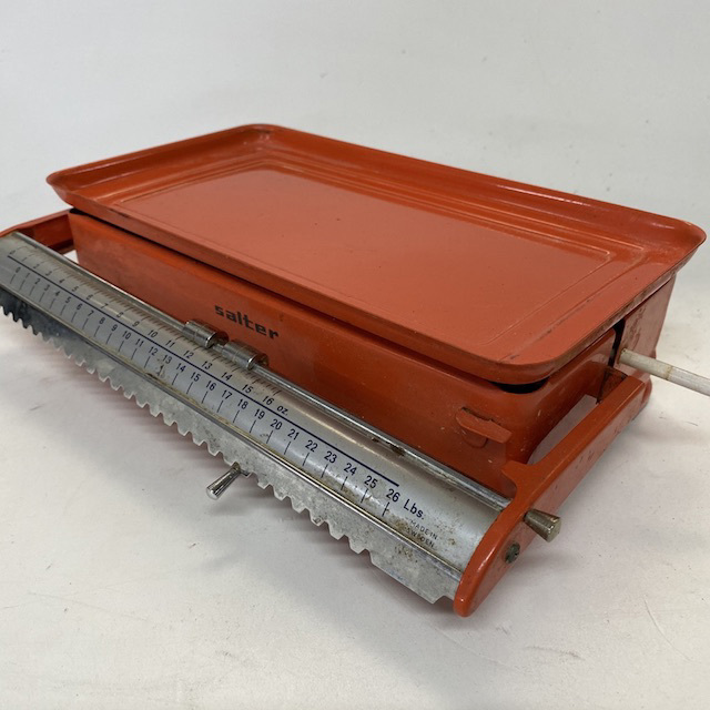 SCA0060 SCALES, Orange Salter w Flat Tray $12.50