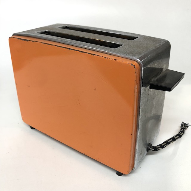 TOA0021 TOASTER, 1970's Orange $12.50