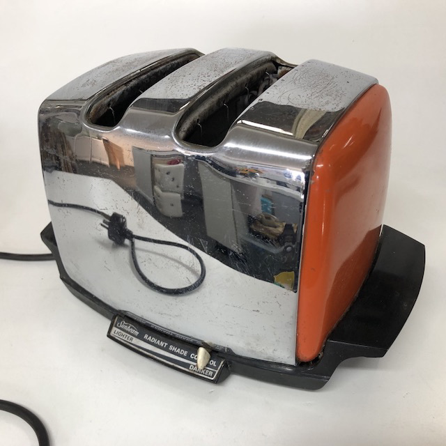 TOA0024 TOASTER, 1970's Sunbeam - Orange $12.50
