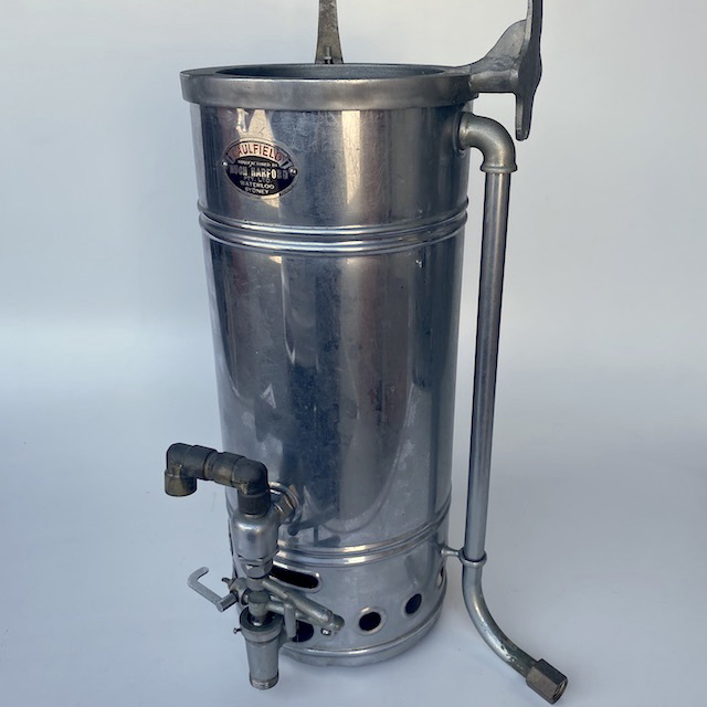 URN0040 URN, Shiny Metal Hot Water Urn $22.50