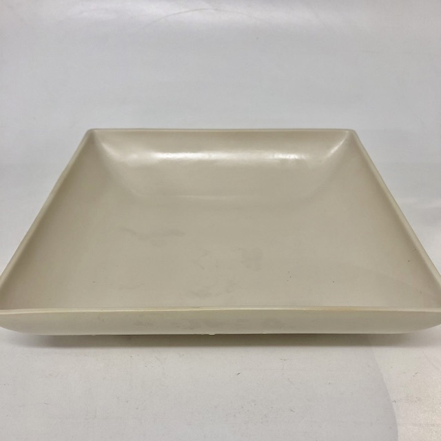 BOW0201 BOWL, Large Square Beige $7.50