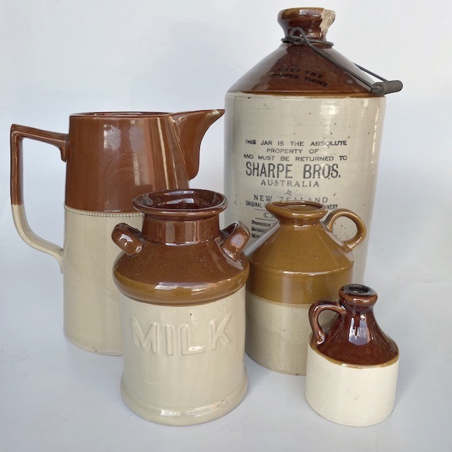 Glazed Brown Stoneware Collection