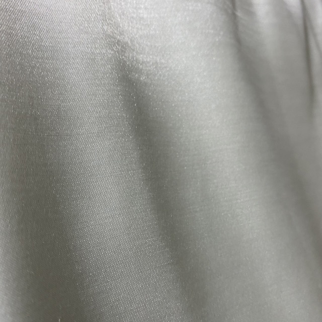 CUR0064 CURTAIN, Cream Satin $20