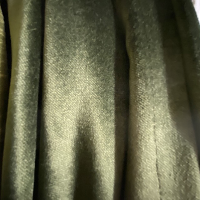 CUR0027 CURTAIN, Pair Green Velvet 1.3m x 2.3m Drop $37.50