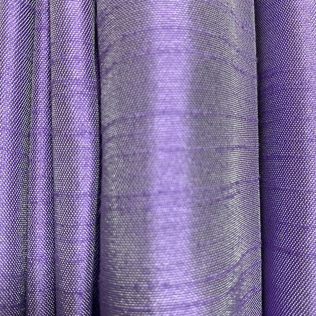 CUR0115 CURTAIN, Pair Purple Silk Pair $37.50