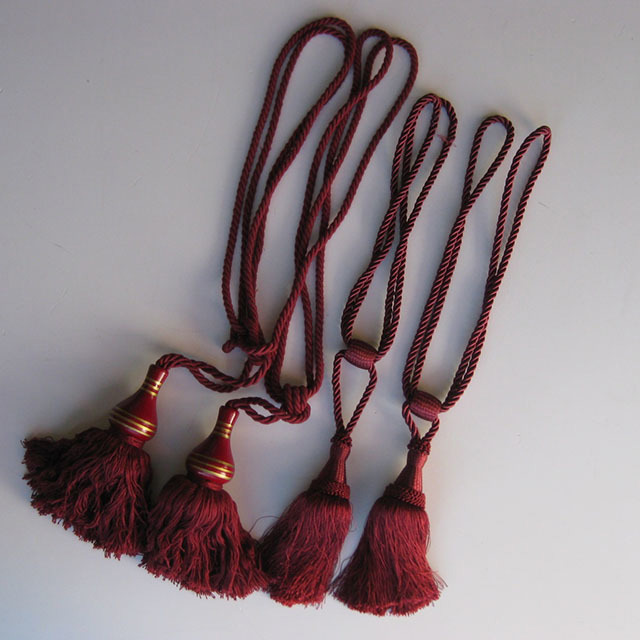 Burgundy Tassels Assorted