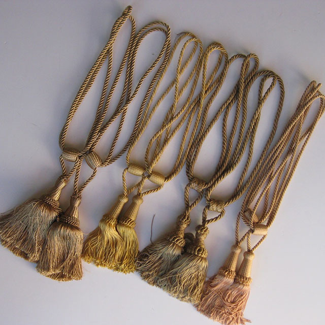 Gold Tassels Assorted