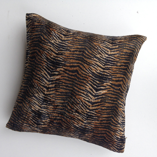 CUS0084 CUSHION, Animal Print - Tiger 2 $10